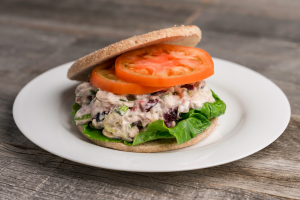 chicken mix salad sandwich
