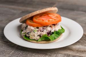 chicken mix salad sandwich