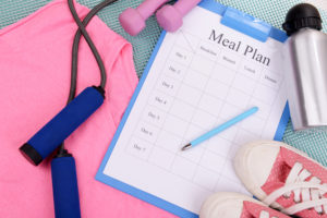 training diet plan